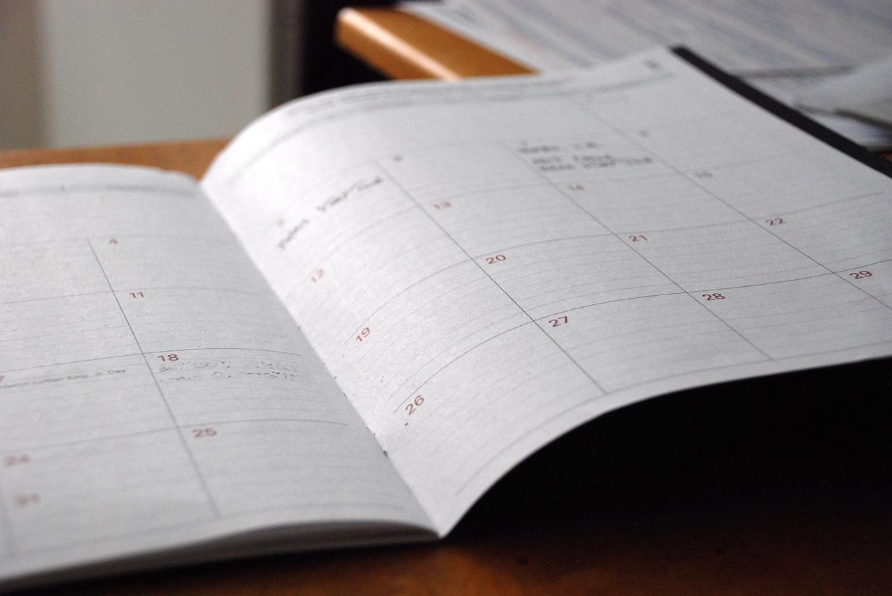 【QII手帳術】第5回:週次のスケジューリング